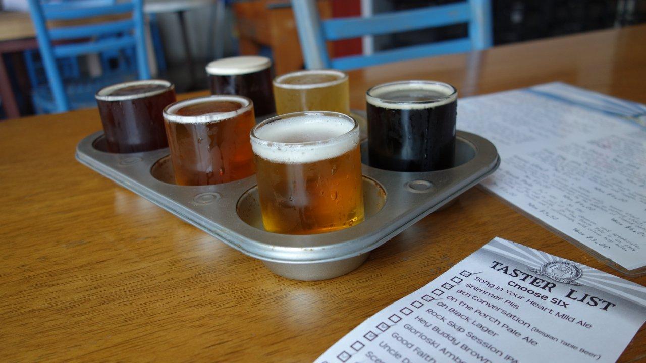 Discretion Brewing - Santa Cruz, California - list of California breweries