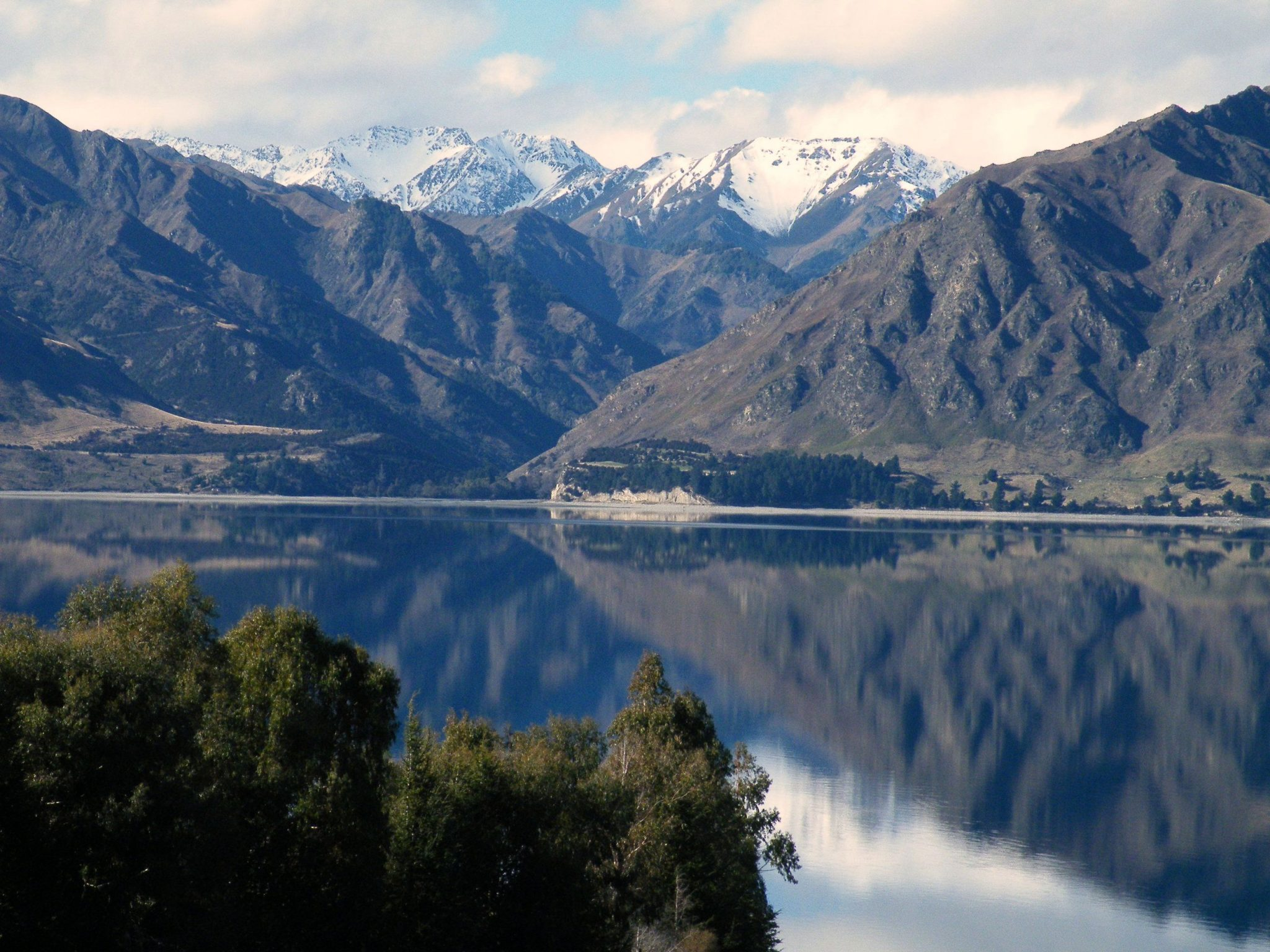 Lake Hawea - South Island, New Zealand