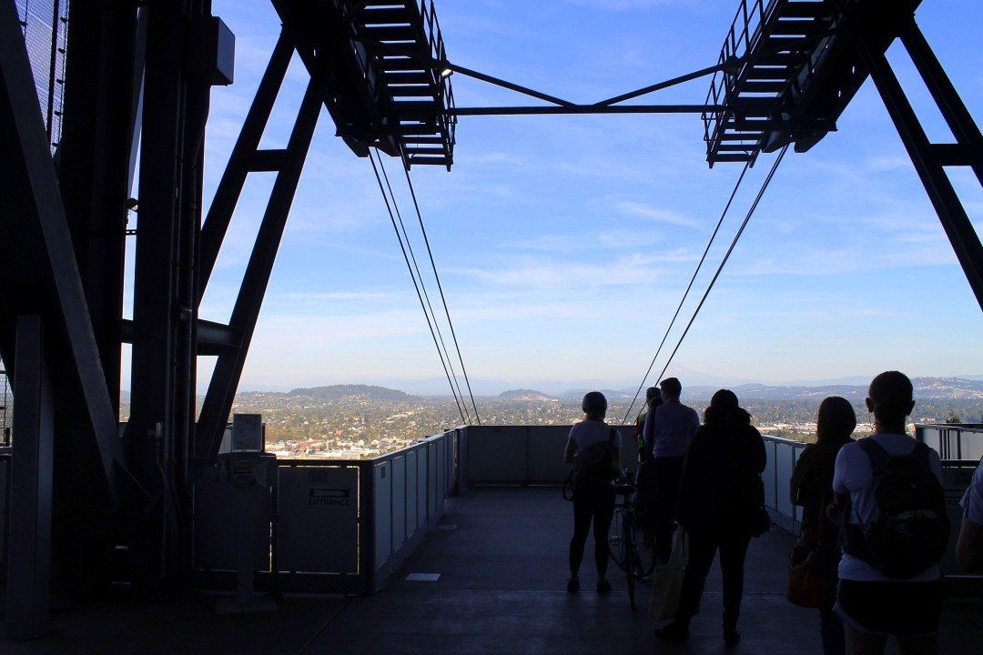 Portland Aerial Tram | Free Things to do in Portland Oregon