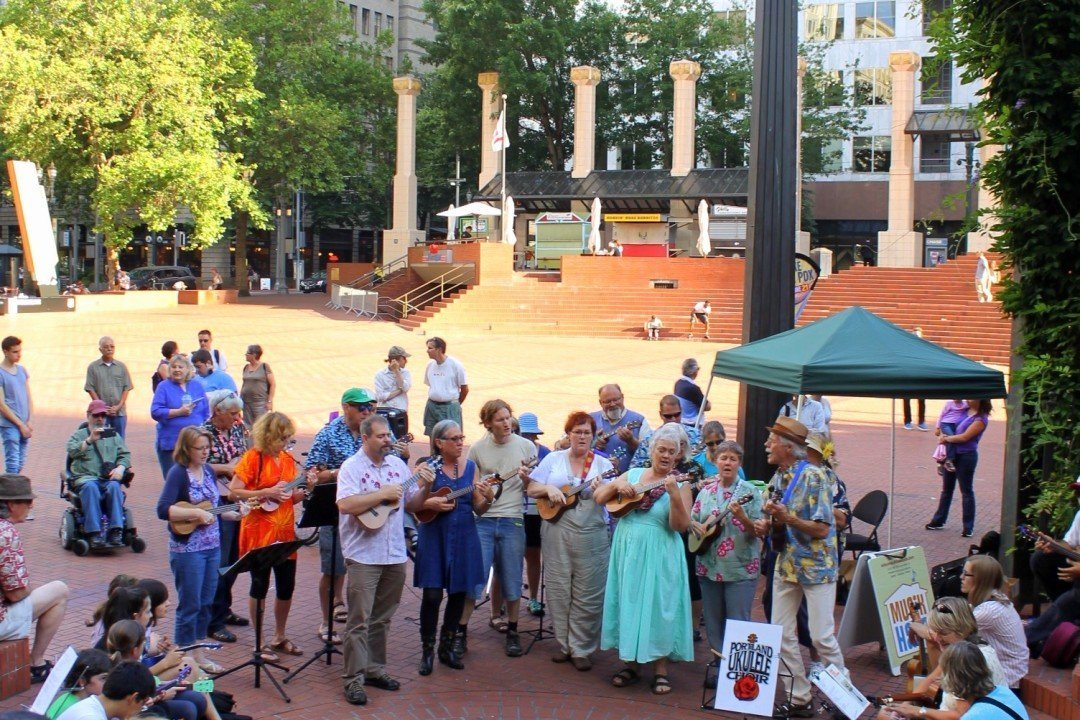 Pioneer Square Portland, Oregon | Free Things to do in Portland