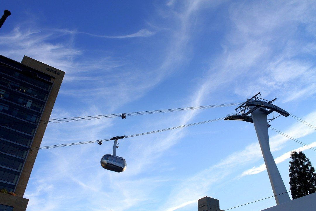 Portland Aerial Tram - Free Things to do in Portland Oregon