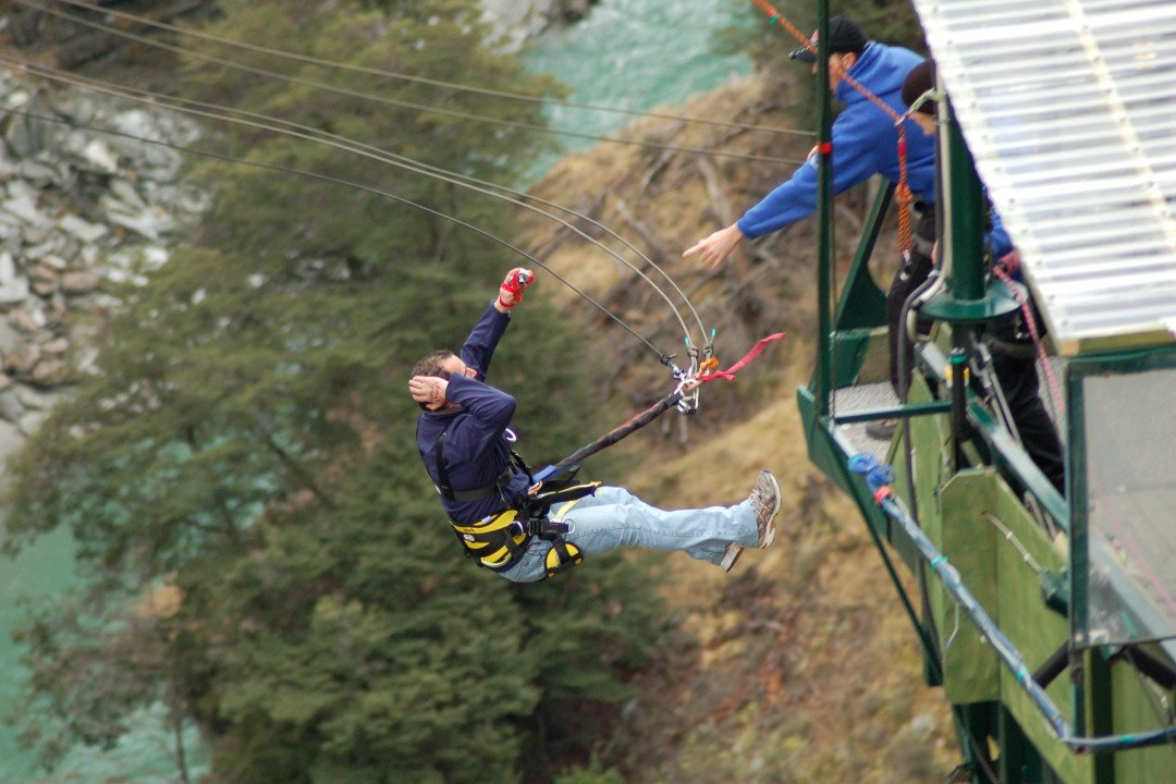 Shotover Canyon Swing - Queenstown, New Zealand | Queenstown swing | things to do in queenstown