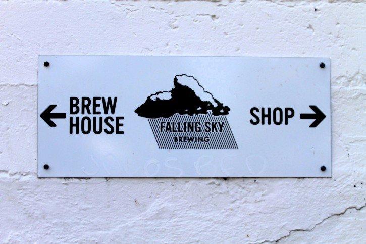 Falling Sky Brewery - Eugene, Oregon