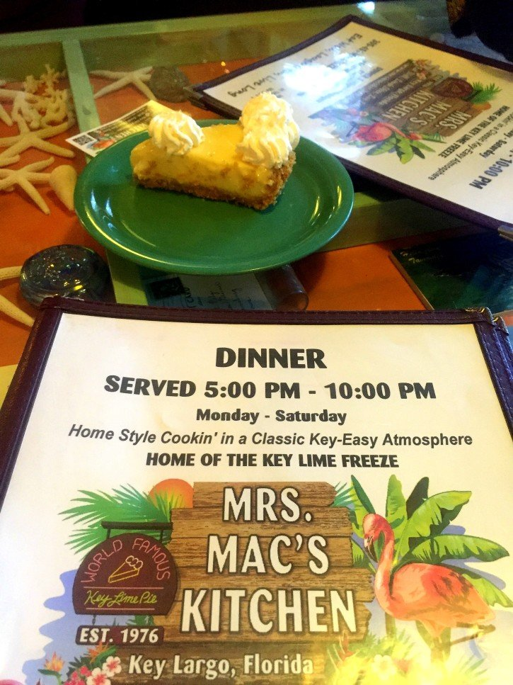Mrs. Mac's Key Lime Pie - Key Largo