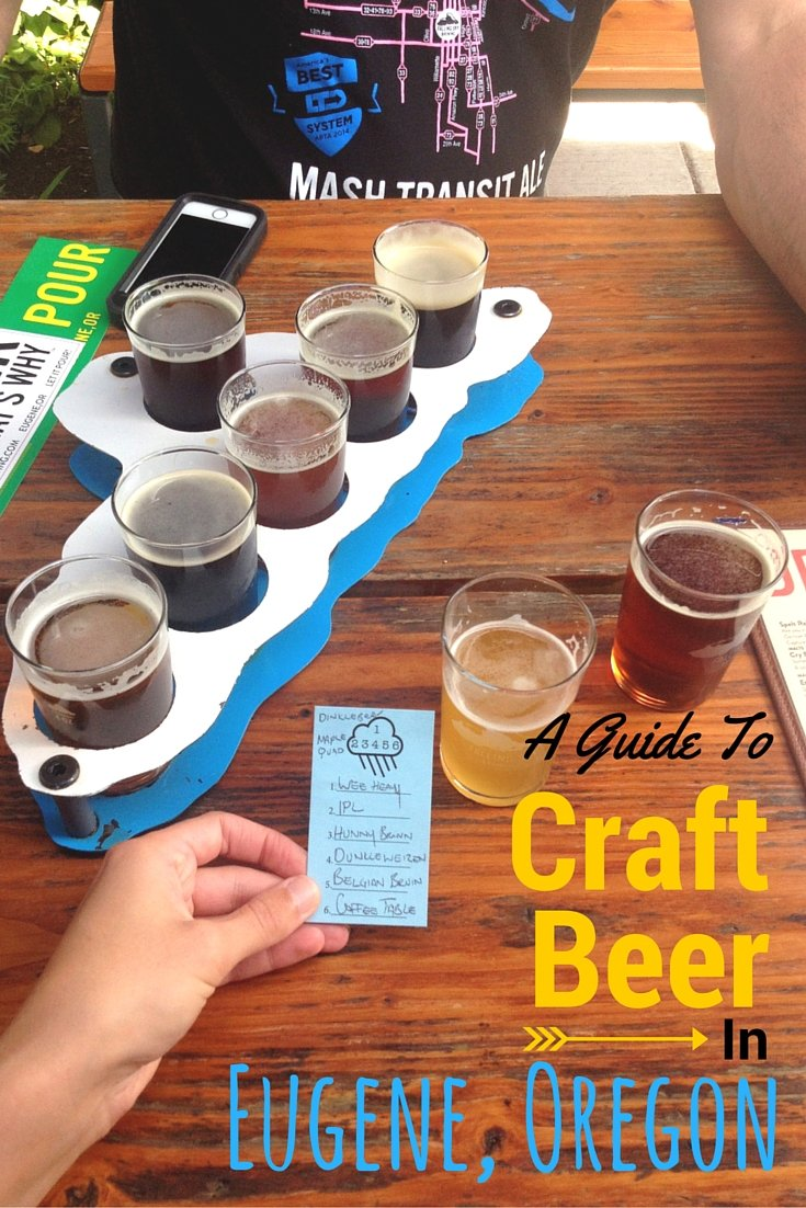 A Guide to Craft Beer in Eugene, Oregon