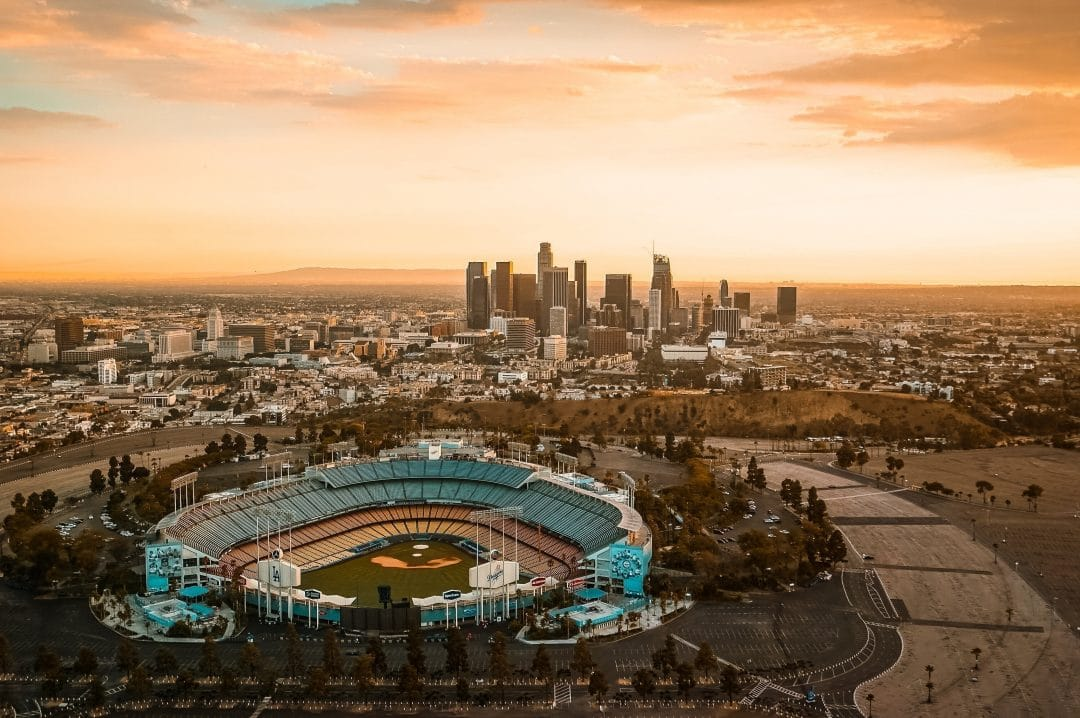 what to do in downtown la - dodger's game