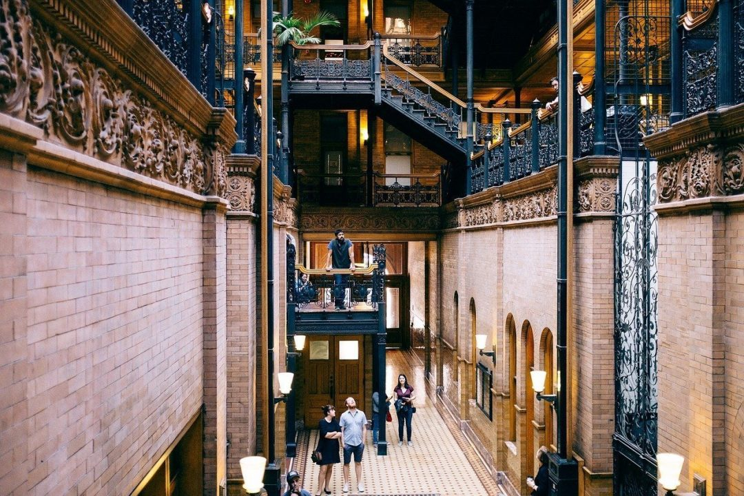 cool museums in la - Bradbury Building