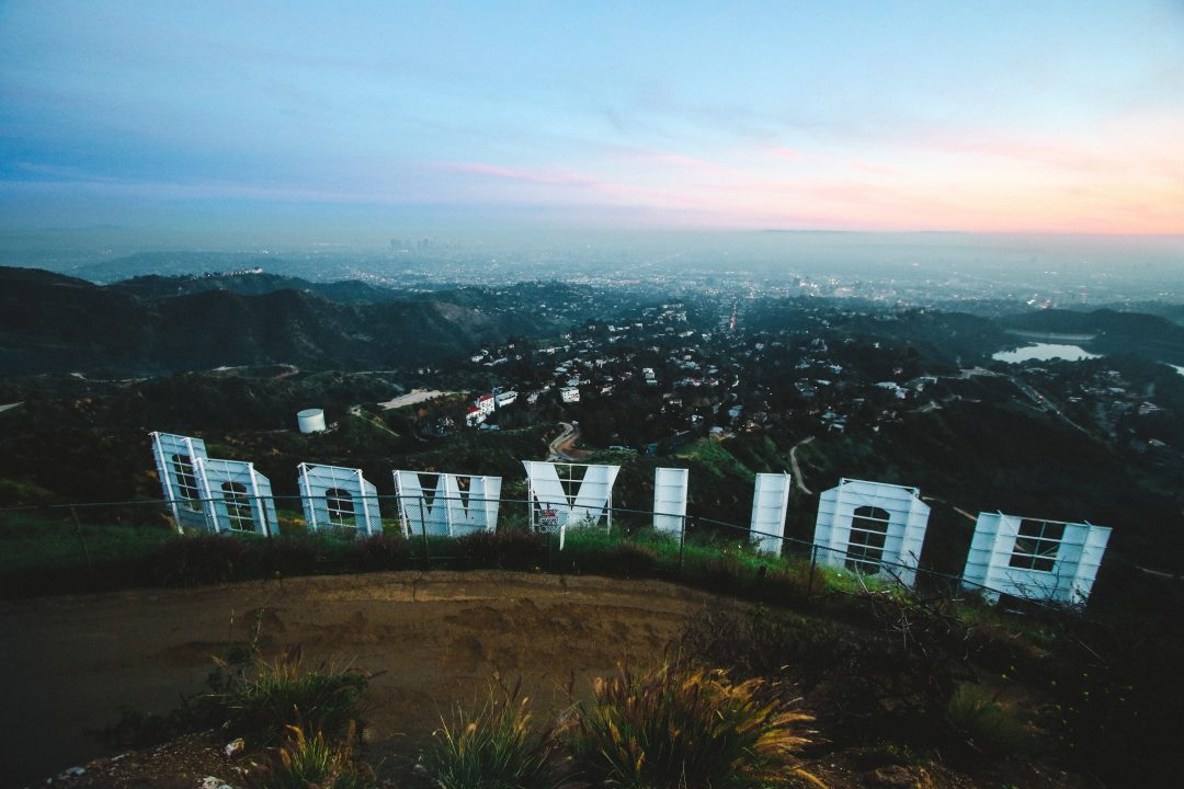 los angeles landmarks - the Hollywood sign