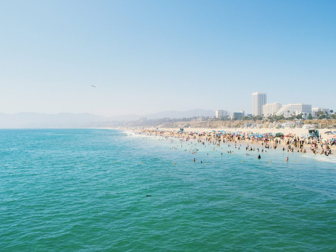 things to do in santa monica - best beaches in la