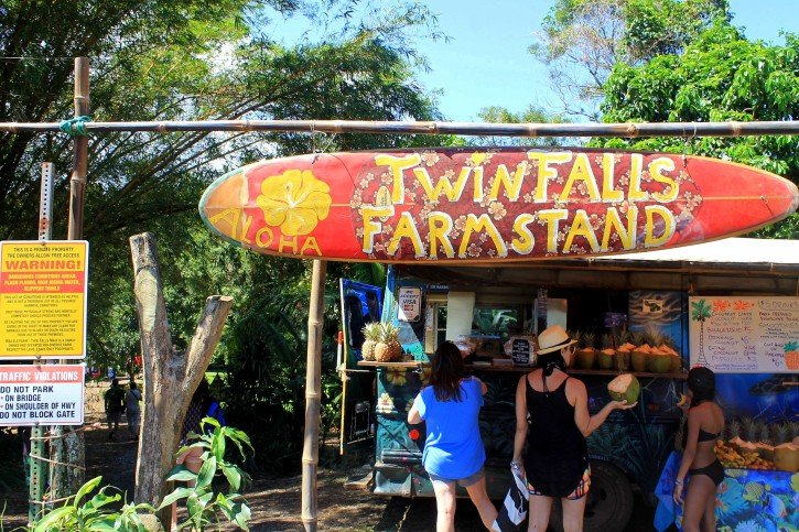 Twin Falls Fruit Stand - Maui, Hawaii