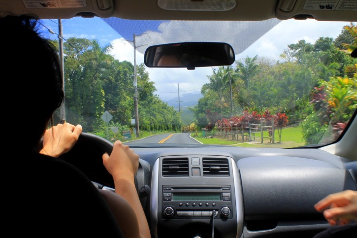 Driving the Road to Hana - Maui, Hawaii