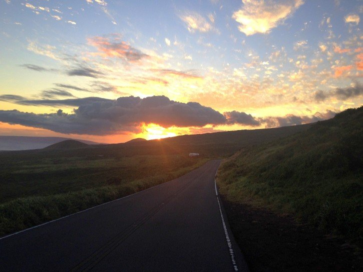 Maui Sunset - Hawaii
