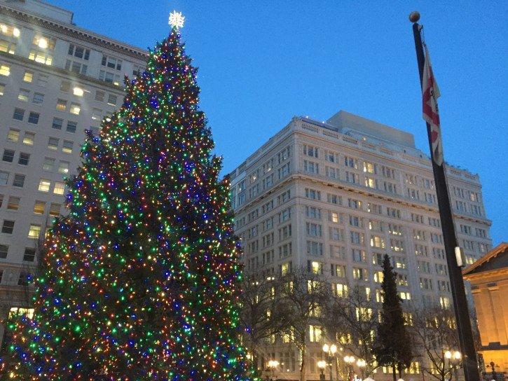 Christmas trees in portland oregon the atlas heart for Holiday craft fairs portland oregon