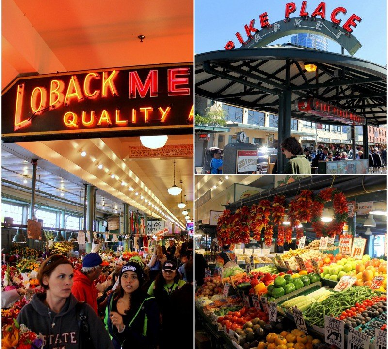 Two days in Seattle - visit Pike Place