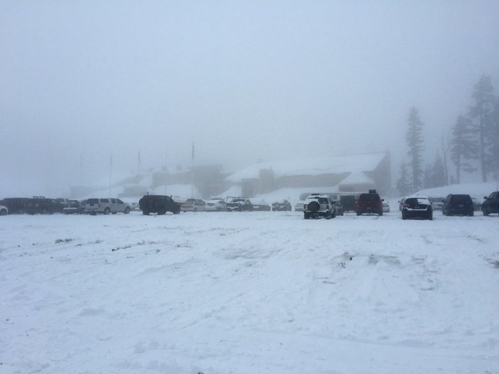 Mount hood snowboarding