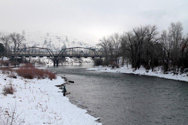 Missoula, Montana in Winter