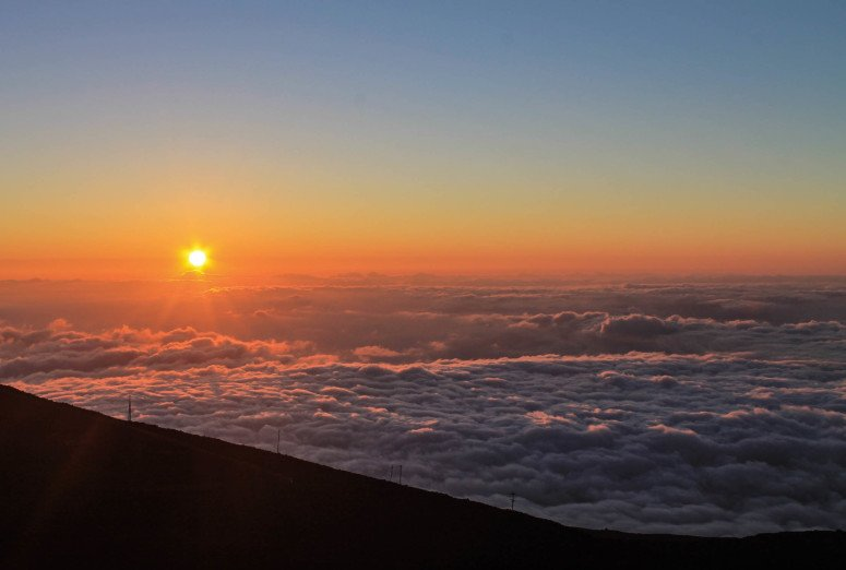 Hiking Above the Clouds - Maui, Hawaii