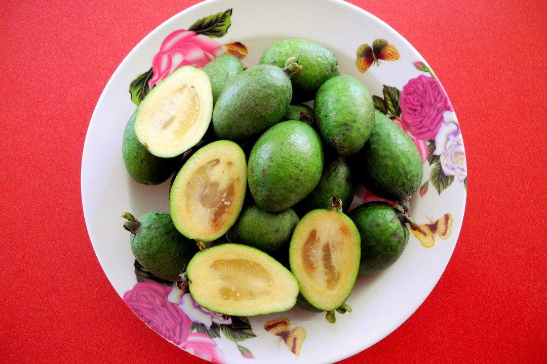 Must eat in New Zealand - Feijoas