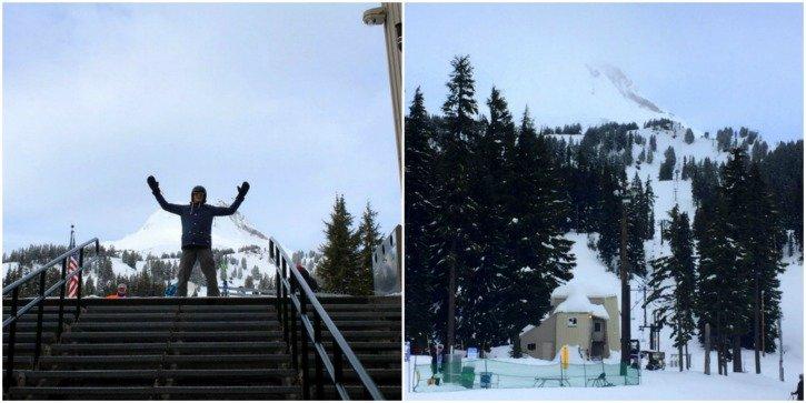 Snowboarding lessons Mt Hood