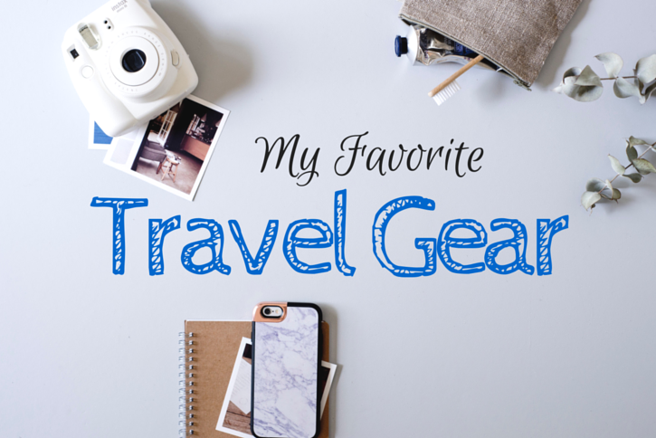 My Favorite Travel Gear - The Atlas Heart