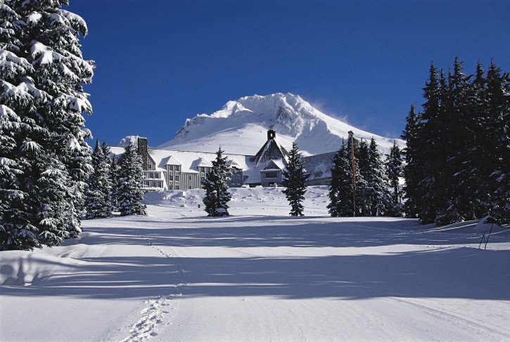 Timberline Lodge Snowshoeing - Oregon