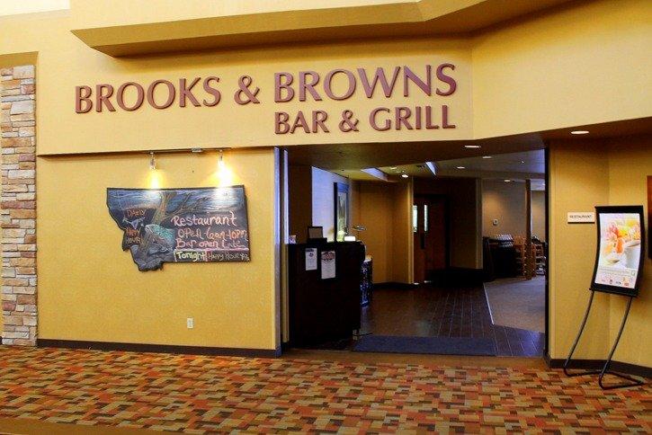 Brooks & Browns Bar & Brill at the Holiday Inn Downtown Missoula
