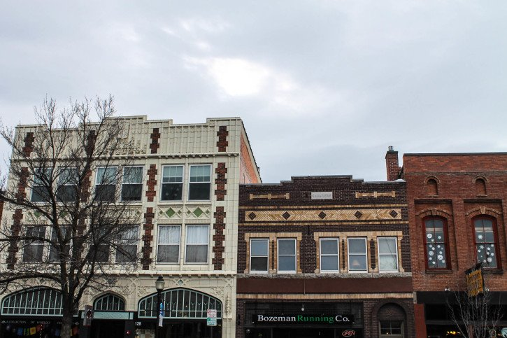 Buildings in Bozeman, Montana