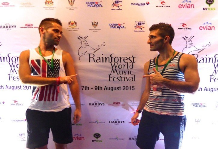 Gay Travel in Malaysia - gay vacations, The Rainforest World Music Festival
