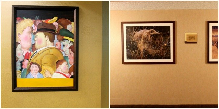 Art at the Holiday Inn Downtown Missoula