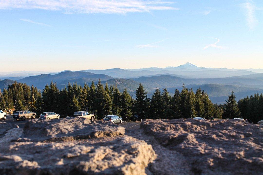 Timberline Lodge at Mt. Hood - The Fruit Loop Tour - Multnomah falls to Mt hood