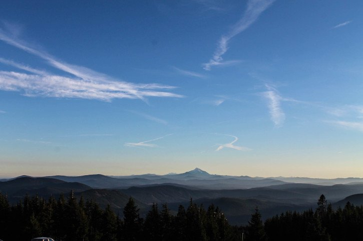 Timberline Lodge at Mt. Hood - The Fruit Loop Tour