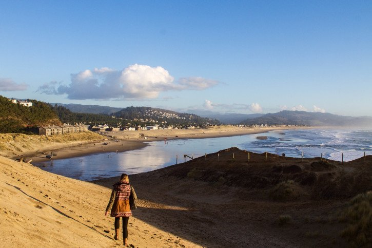 Pacific City, Oregon - On Leaving Behind the Idea of Home