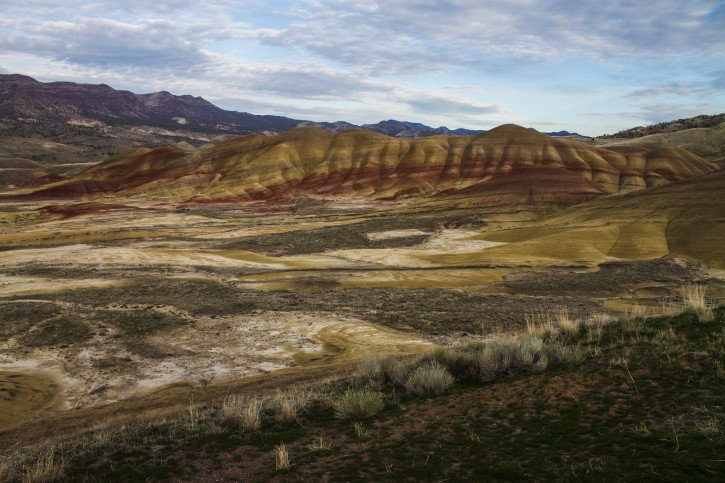 The Painted Hills at the John Day Fossil Beds