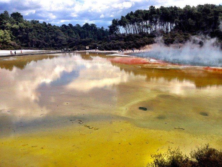 Wai-O-Tapu in Rotorua, New Zealand