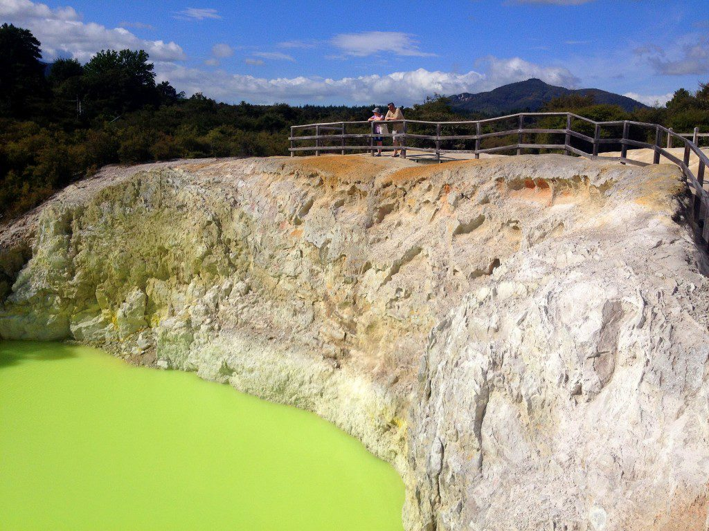 Wai-O-Tapu in Rotorua, New Zealand | Geothermal Rotorua | Must See Places in New Zealand