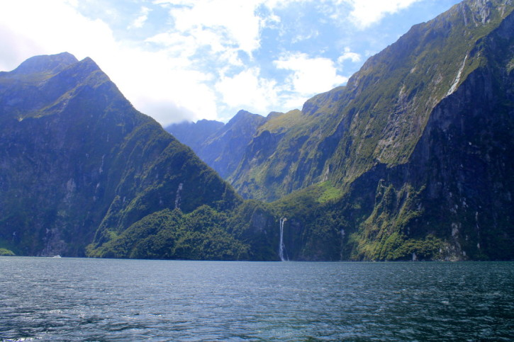Milford Sound on the South Island of New Zealand