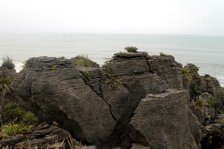 Punakaiki Rock on the West Coast of New Zealand