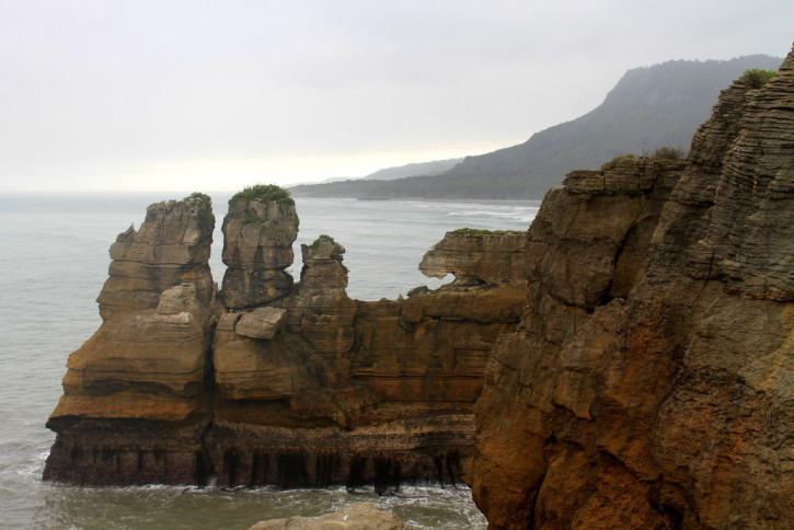 Punakaiki Rocks on the West Coast of New Zealand
