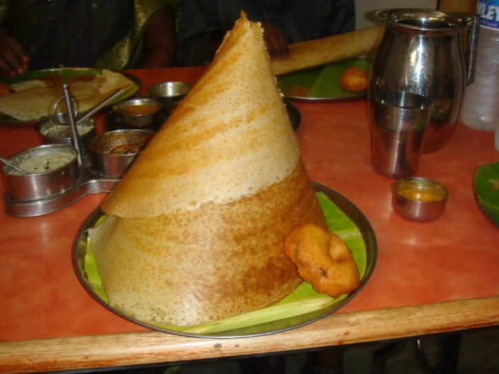 Dosa in Southern India