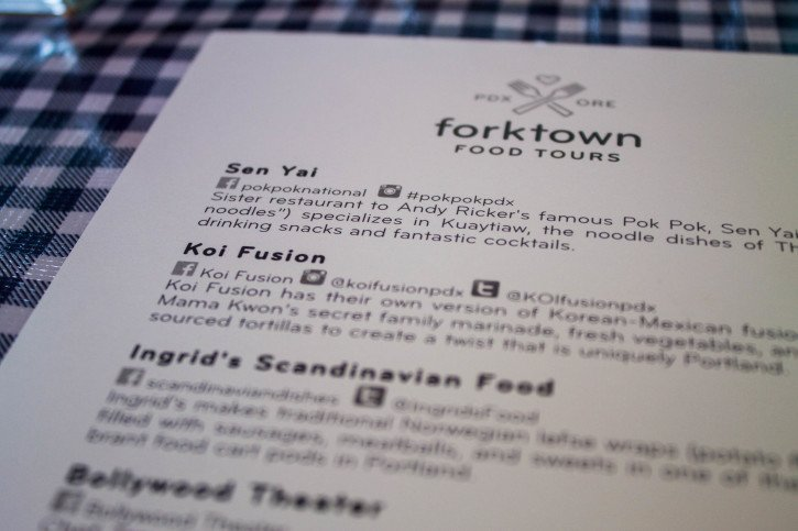 Forktown Food Tours in Portland, Oregon