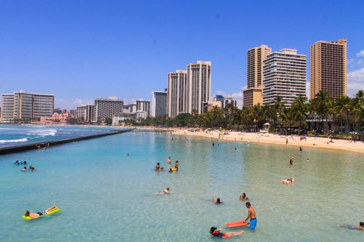 Waikiki Beach - Oahu, Hawaii