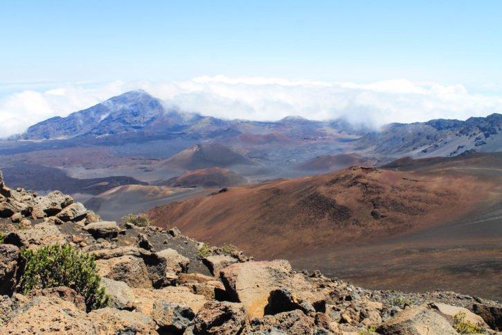 Haleakalā Volcano Hiking - Maui, Hawaii