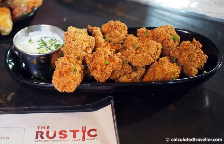 Rustic Calf Fries in Fort Worth, Texas