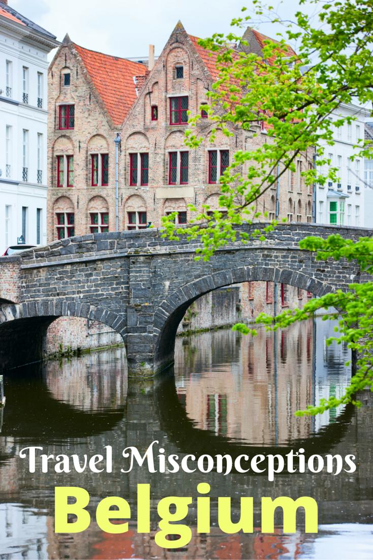 Travel Misconceptions - Belgium