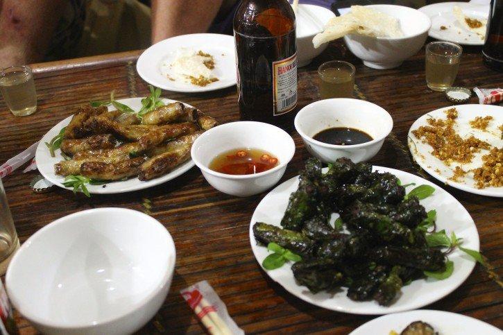 Snake Feast in Hanoi, Vietnam