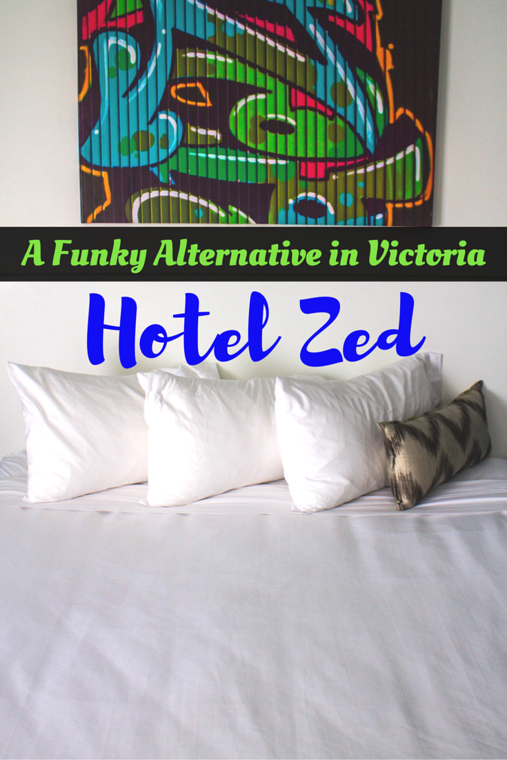 A Funky Alternative in Victoria, Canada - Hotel Zed
