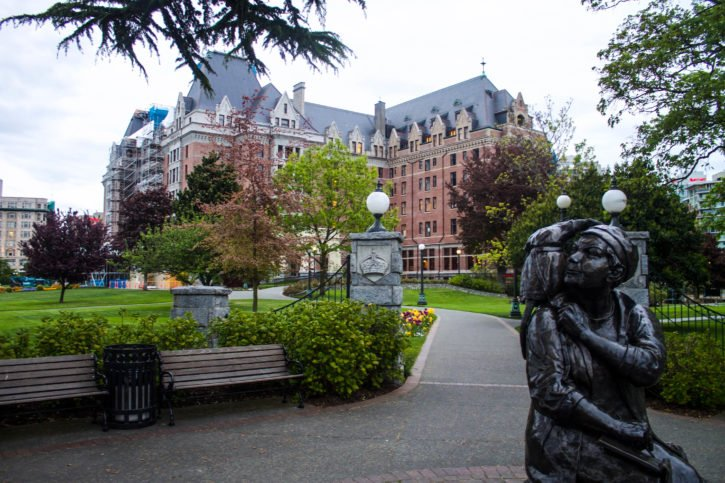 The Empress Hotel in Victoria, BC - Canada