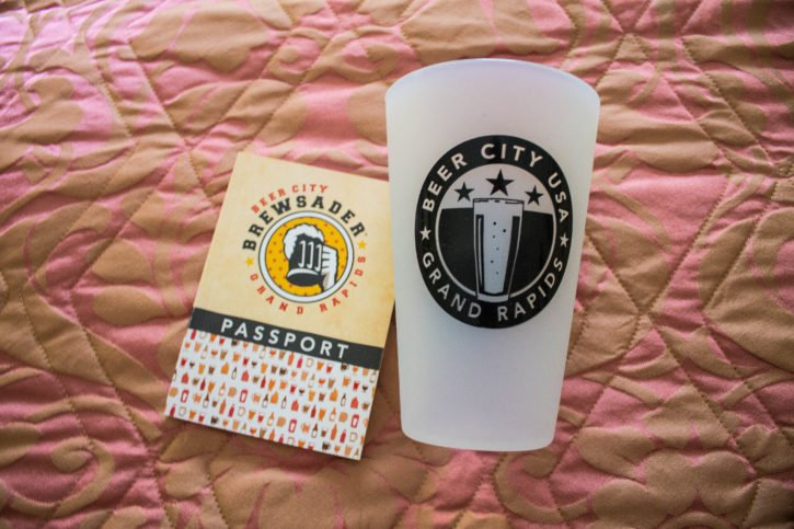 Beer City USA in Grand Rapids, Michigan