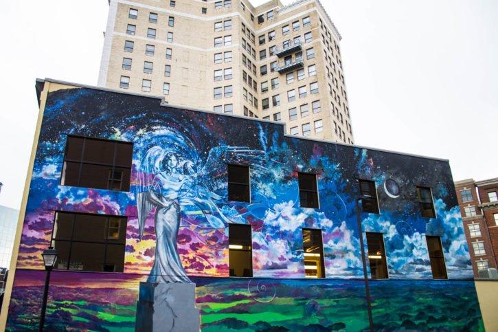 Street Art in Grand Rapids, Michigan