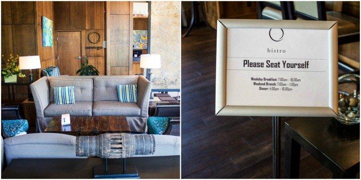 O Bistro at The Oswego Hotel in Victoria, Canada